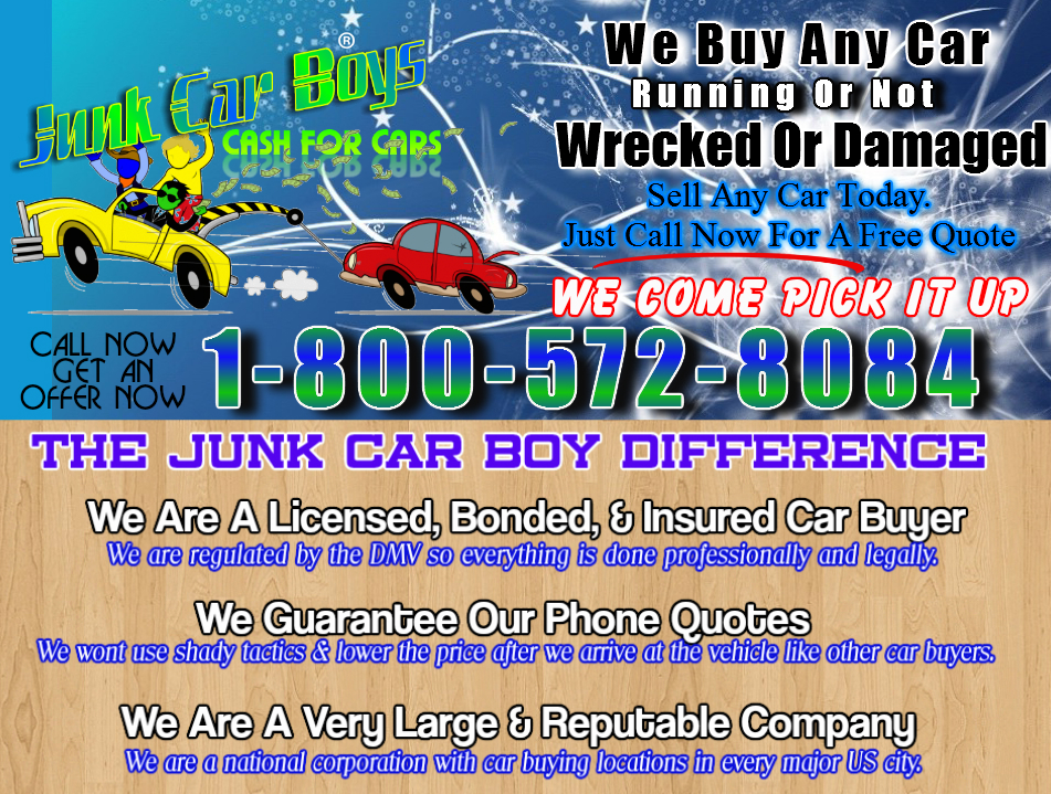 Cash For Cars Rockford IL - We Buy Junk Vehicles Same Day